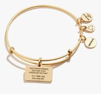 Alex and Ani Bangles Casual Style Party Style Silver Office Style