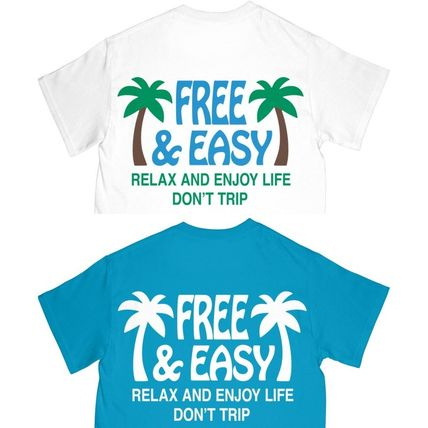 Ron Herman More T-Shirts Street Style Plain Cotton Short Sleeves Surf Style T-Shirts