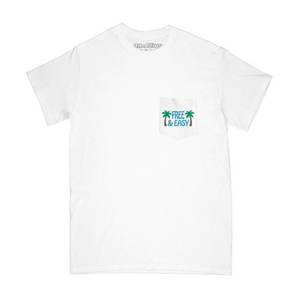 Ron Herman More T-Shirts Street Style Plain Cotton Short Sleeves Surf Style T-Shirts 2