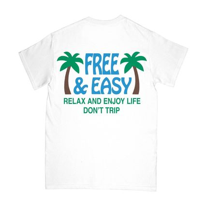 Ron Herman More T-Shirts Street Style Plain Cotton Short Sleeves Surf Style T-Shirts 3