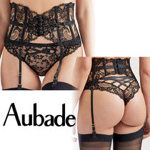 Aubade Street Style Collaboration Lace Glitter Socks & Tights