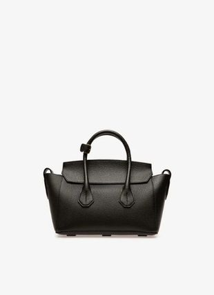 BALLY Handbags Casual Style A4 Plain Leather Party Style Office Style 2