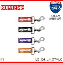 Supreme Unisex Street Style Leather Accessories