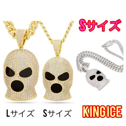 King Ice Necklaces & Chokers Street Style Chain Logo Necklaces & Chokers
