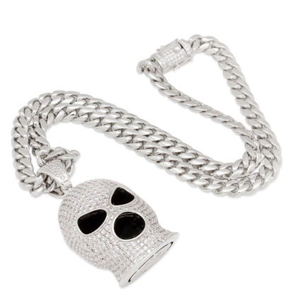 King Ice Necklaces & Chokers Street Style Chain Logo Necklaces & Chokers 3