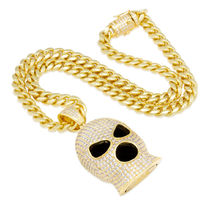 King Ice Necklaces & Chokers Street Style Chain Logo Necklaces & Chokers 11
