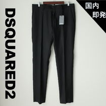 D SQUARED2 Tapered Pants Wool Silk Plain Tapered Pants