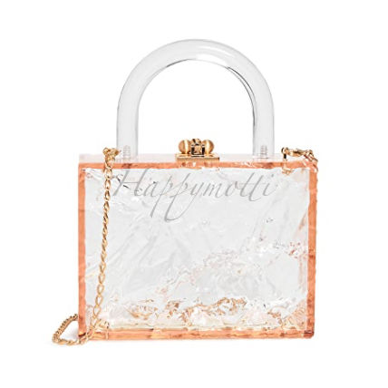 Edie Parker Clutches Casual Style Plain Elegant Style Clutches 3