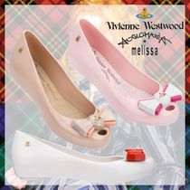 Vivienne Westwood Open Toe Round Toe Casual Style Party Style PVC Clothing