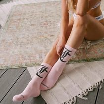 JUICY COUTURE Cotton Logo Socks & Tights