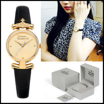 Vivienne Westwood Casual Style Street Style Leather Party Style Quartz Watches