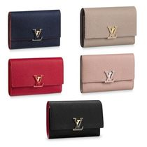 Louis Vuitton DAMIER Leather Long Wallet  Small Wallet Coin Cases