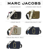 MARC JACOBS Snapshot Casual Style Unisex Vanity Bags 2WAY Leather Party Style