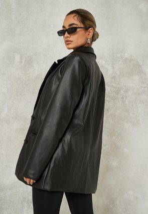 Missguided More Jackets Casual Style Faux Fur Jackets 2