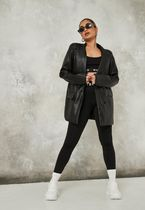 Missguided More Jackets Casual Style Faux Fur Jackets 4