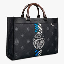 Berluti Business & Briefcases Ulysse Small Canvas And Leather Tote Bag 4
