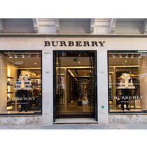 Burberry Scrunchy Casual Style Unisex Party Style Office Style