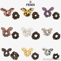 FENDI Scrunchy Casual Style Street Style Party Style Office Style