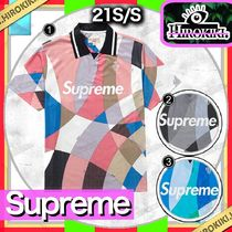 Supreme Pullovers Unisex Street Style V-Neck Collaboration
