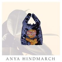 Anya Hindmarch Casual Style Party Style With Jewels Elegant Style Glitter