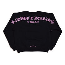 CHROME HEARTS Pullovers Unisex Sweat Street Style Collaboration