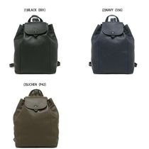 Longchamp LE PLIAGE CUIR Casual Style Unisex Street Style Office Style Elegant Style