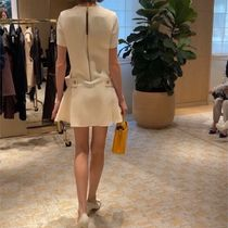Louis Vuitton Casual Style Wool Silk Plain Party Style Office Style
