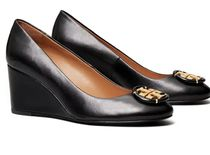 Tory Burch Plain Toe Round Toe Casual Style Plain Leather Party Style