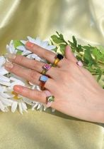 yOungly yOungley Unisex Street Style Rings