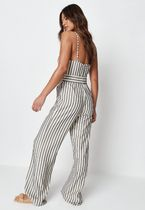 Missguided Dresses Stripes Casual Style Sleeveless Street Style V-Neck Cotton 4