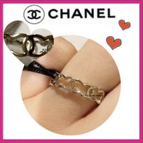 CHANEL ICON Costume Jewelry Party Style Elegant Style Rings