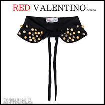 RED VALENTINO Casual Style Blended Fabrics Party Style Elegant Style