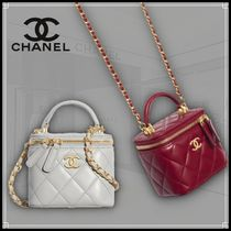 CHANEL CHAIN WALLET Small Vanity With Chain