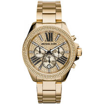 Michael Kors Casual Style Blended Fabrics Studded Round Quartz Watches