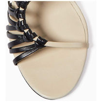3.1 Phillip Lim Open Toe Casual Style Leather Elegant Style