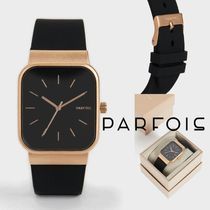 PARFOIS Casual Style Silicon Square Office Style Formal Style