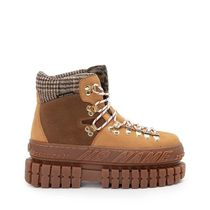 NO NAME Mountain Boots Casual Style Plain Leather Logo Outdoor Boots