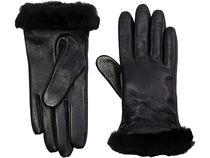 UGG Australia Studded Street Style Leather Leather & Faux Leather Gloves