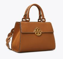Tory Burch Casual Style A4 Leather Party Style Office Style