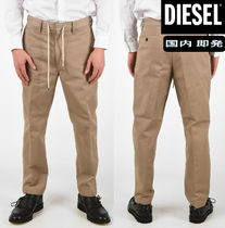 DIESEL Tapered Pants Cotton Tapered Pants