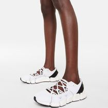 adidas by Stella McCartney Platform Round Toe Rubber Sole Lace-up Casual Style Unisex