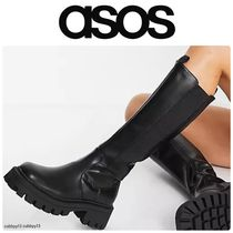 ASOS Rubber Sole Casual Style Studded Street Style Leather