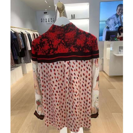 CLAUDIE PIERLOT Shirts & Blouses Casual Style Unisex Long Sleeves Medium Party Style 3