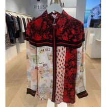 CLAUDIE PIERLOT Shirts & Blouses Casual Style Unisex Long Sleeves Medium Party Style 4
