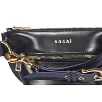 sacai Leather Pouches & Cosmetic Bags
