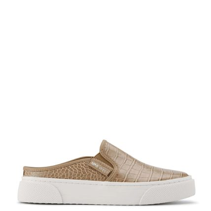 Nine West Low-Top Rubber Sole Casual Style Studded Street Style Leather 2