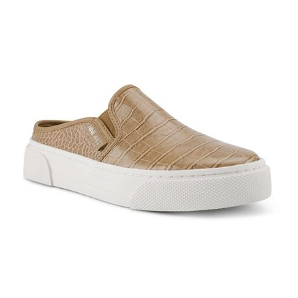 Nine West Low-Top Rubber Sole Casual Style Studded Street Style Leather 3