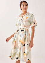 Love Bonito Flower Patterns Tropical Patterns Casual Style Maxi A-line