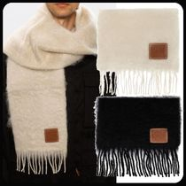 LOEWE Anagram Scarf in wool and mohair
