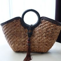 S C Vizcarra Straw Bags Straw Bags 7